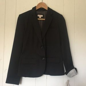 Black 2 Button Blazer